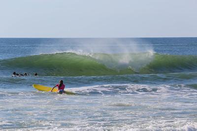 Waves were pumping...