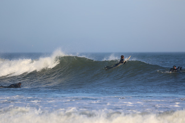 There were some really fun waves out there this afternoon.
