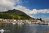 2010 08-01 A shot of the main harbor in Ketchikan.  Creek street is just out of the frame to the left.