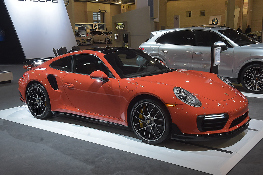 . Porsche 2018 911S. 0-60 in 2.8 seconds with a top speed of 208 mph. As show $222,790. Includes heated seats, heated steering wheel and expresso leather interior.