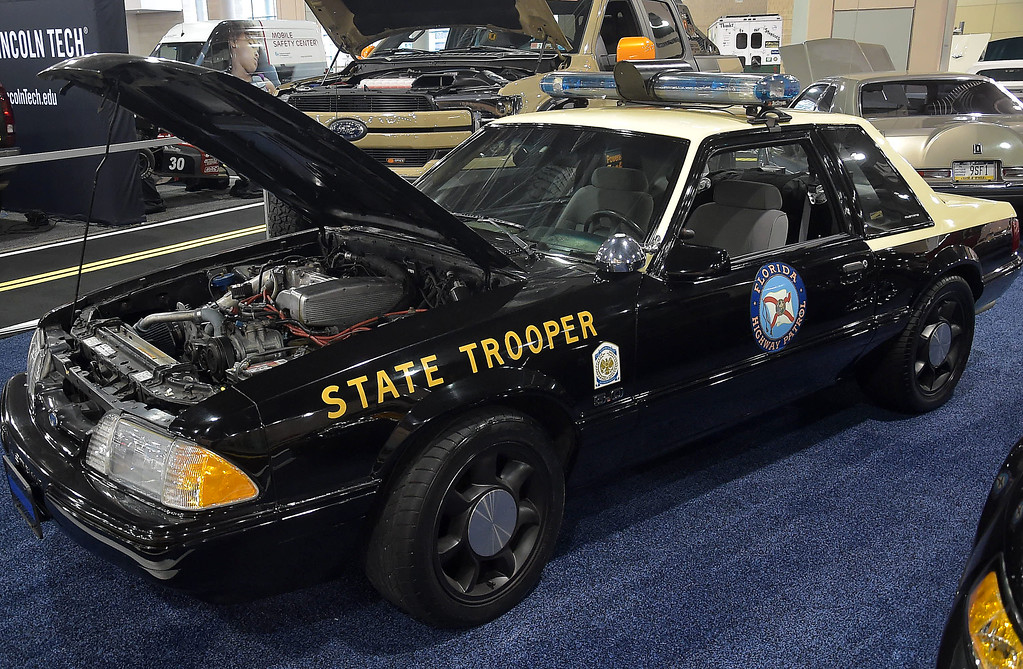 . SWere you ever stopped on Interstate 95 by this Florida State police Mustang.