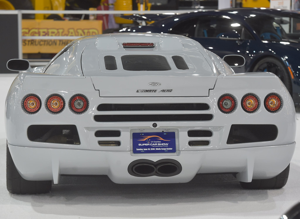 . At 273 mph all you will see is the rear of this 2011  SSC Ulitmate Aero. It holds the Guiness Book of World Records as the fastest production car.
