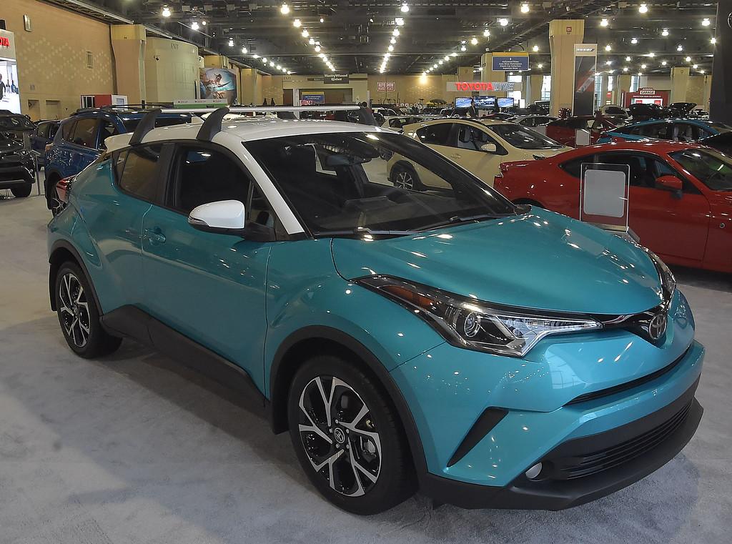 . Toyota C-HR starting at 22,500.