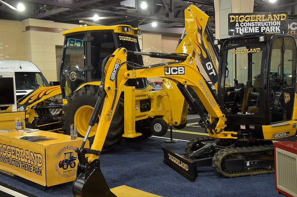 . Check out the construction equipment from DIggerland theme park.