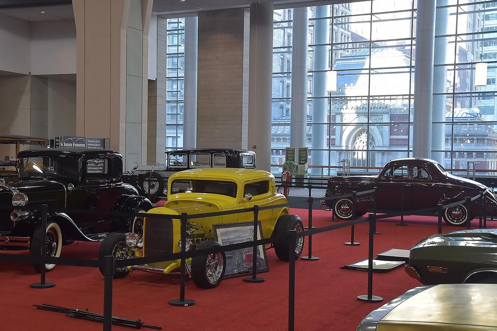 . Vintage cars.