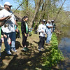 PETE BANNAN- DIGITAL FIRST MEDIA  Fathers Involved Shedding Hope (FISH) held their first annual fishing rodeo on the banks of the West Brandywine Creek at the Riverwalk Trail in Coatesville Saturday and Sunday. Over 160 children took part in the rodeo which was free for City children. There was a fee for children from neighboring communities.
