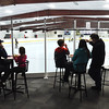 PETE  BANNAN-DIGITAL FIRST MEDIA    <br /> Full size plexiglass boards allow family members  to watch the action on the rink at Chester County Sports Center.