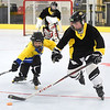 PETE  BANNAN-DIGITAL FIRST MEDIA    <br /> Ryder Jones and Matthew Maillie compete on the rink at Chester County Sports Center.