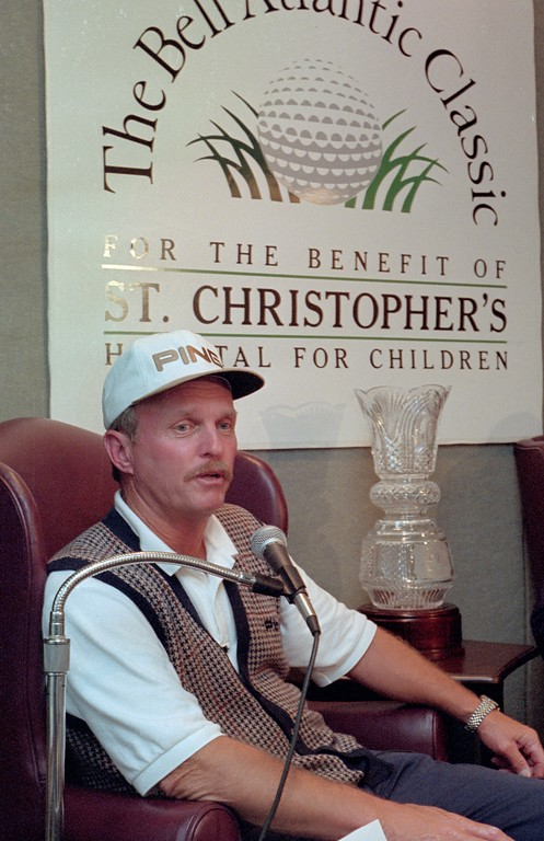 . Bob Eastwood, winner of the Bell Atlantic Classic. May 25, 1997.  DAILY LOCAL NEWS FILE PHOTO