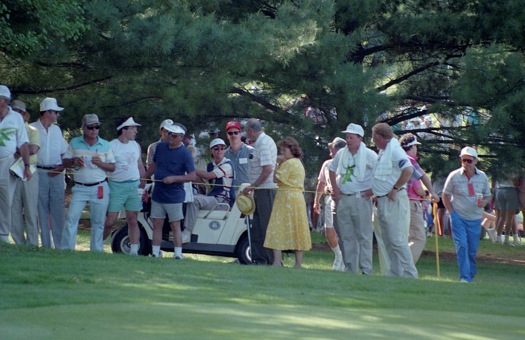 . DAILY LOCAL NEWS ARCHIVES   Chester Valley Golf Club in East Whiteland hosted a dozen pro tournaments in the 1980\'s and 90\'s, including the Bell Atlantic Championship, during the heydey of the Senior PGA Tour, now the Champions Tour.
