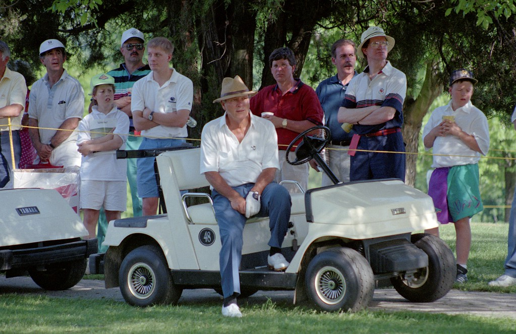 . DAILY LOCAL NEWS ARCHIVES   Chester Valley Golf Club in East Whiteland hosted a dozen pro tournaments in the 1980\'s and 90\'s, including the Bell Atlantic Championship, during the heydey of the Senior PGA Tour, now the Champions Tour. Arnold Palmer.