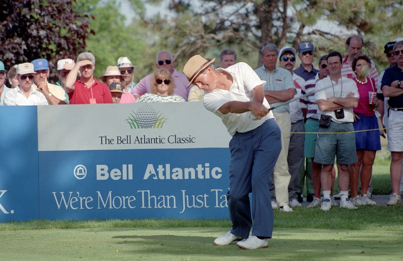DAILY LOCAL NEWS ARCHIVES   Chester Valley Golf Club in East Whiteland hosted a dozen pro tournaments in the 1980's and 90's, including the Bell Atlantic Championship, during the heydey of the Senior PGA Tour, now the Champions Tour.Arnold Palmer.