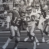 Andre Waters chases Atlanta's Chris Miller. Photo by Bill Stonebeck DAILY LOCAL NEWS ARCHIVES