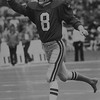 Eagles bare footed kicker Paul McFadden played for the Eagles from 1984 to 1987.  DAILY LOCAL NEWS ARCHIVES