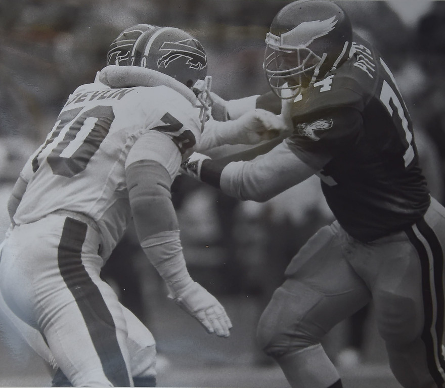 . DAILY LOCAL ARCHIVES -  Pitts against Buffalo Bills. Photo by Andrea Mihalik