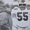Buddy Ryan andlinebacker Mike  Reichenbach. DAILY LOCAL NEWS ARCHIVES