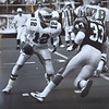 Randall Cunningham against the Bengals. Photo by Kristen Cortazzo DAILY LOCAL NEWS ARCHIVES