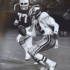 #12 Randell Cunningham and #77 Kenneth Sims, defensive end Photo by. Kristen Cortazzo  DAILY LOCAL NEWS ARCHIVES