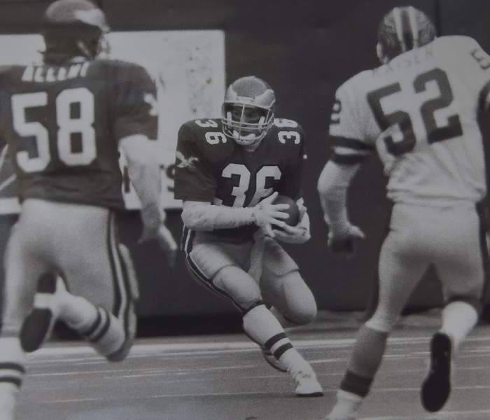 DAILY LOCAL ARCHIVES -  against Buffalo Bills. Photo by Andrea Mihalik