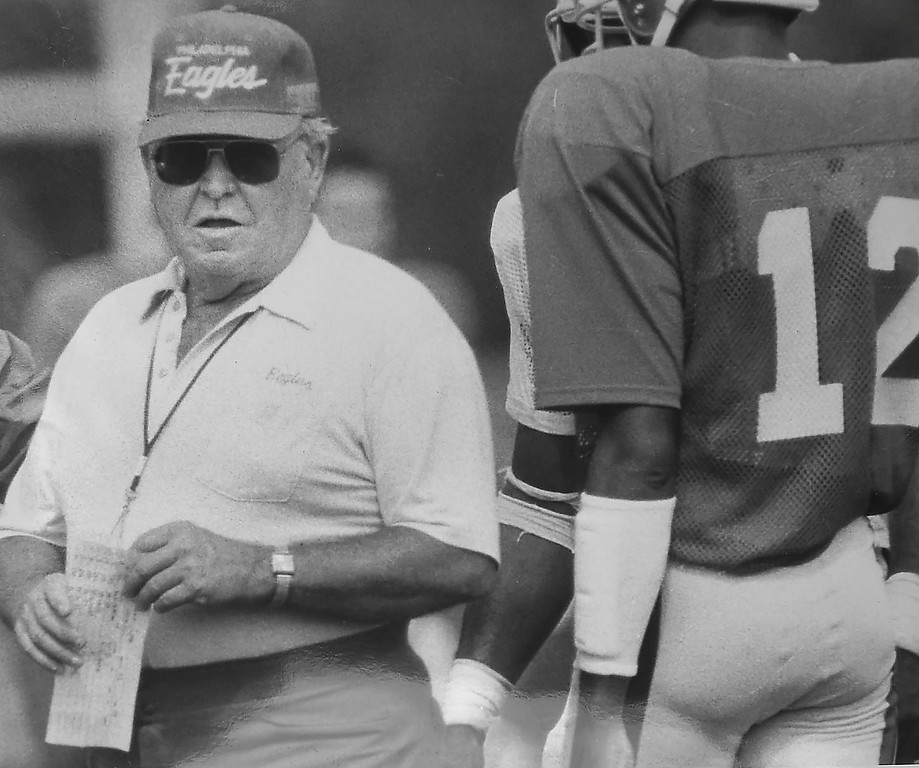 . DAILY LOCAL ARCHIVES - Buddy Ryan with Randal Cunningham Camp \'88