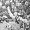 Celebrating the NFC championship game against Dallas. January 11, 1981. Final score Eagles 20 Dallas 7. DAILY LOCAL NEWS ARCHIVES