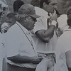 Buddy Ryan and John Spagnolia Camp  1988. Photo by Larry McDevitt. DAILY LOCAL NEWS ARCHIVES