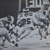 Anthony Toney the one bright spot of the night in this  1987  preseason games against the Detroit Lions.  DAILY LOCAL NEWS ARCHIVES.