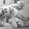 EAGLES RECOVER FUMBLE.   (68) Dennis Harrison  grabs the ball in the NFC championship game against Dallas DAILY LOCAL NEWS ARCHIVES.