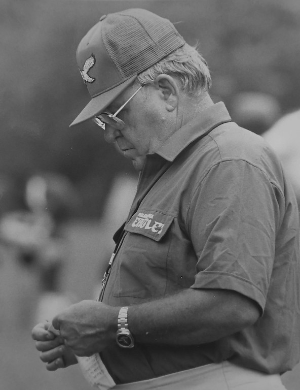 . Buddy Ryan. Photo by Larry McDevitt DAILY LOCAL NEWS ARCHIVES
