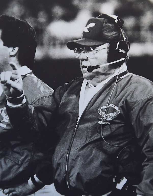 . Eagles head coach Buddy Ryan.  DAILY LOCAL NEWS ARCHIVES