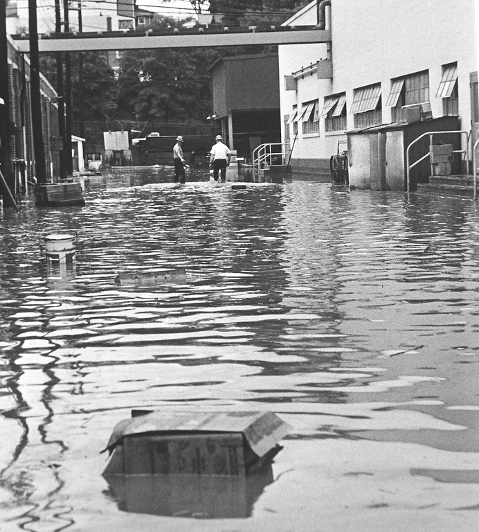 . DAILY LOCAL ARCHIVES   -Following Hurricane Agnes June 1972.