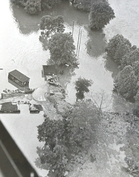 DAILY LOCAL ARCHIVES   -Following Hurricane Agnes June 1972.