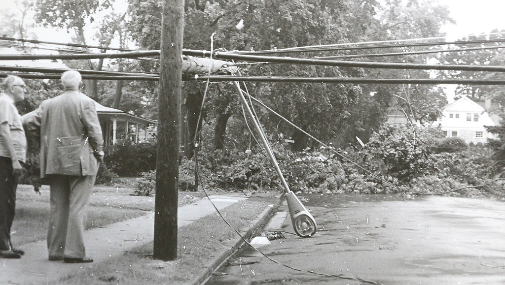 . DAILY LOCAL ARCHIVES   -Following Hurricane Agnes. Brandywine and Dean St. June 1972.