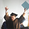 Christian Constantine holds his Bachlor of Science degree after graduating from Immaculata University.  The school held its 92nd Commencement on campus Sunday May 15, 2016.  Degrees were handed out to 888 graduates, including 72 doctorate degrees, 186 master's degrees, 625 bachelor's degrees and five associate degrees.