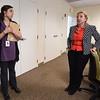 PETE BANNAN-DIGITAL FIRST MEDIA   La Comunidad's Laura Mackiewicz, Director of Community Engagement and LeeAnn Riloff,Director of Development discuss the organizations's mission.
