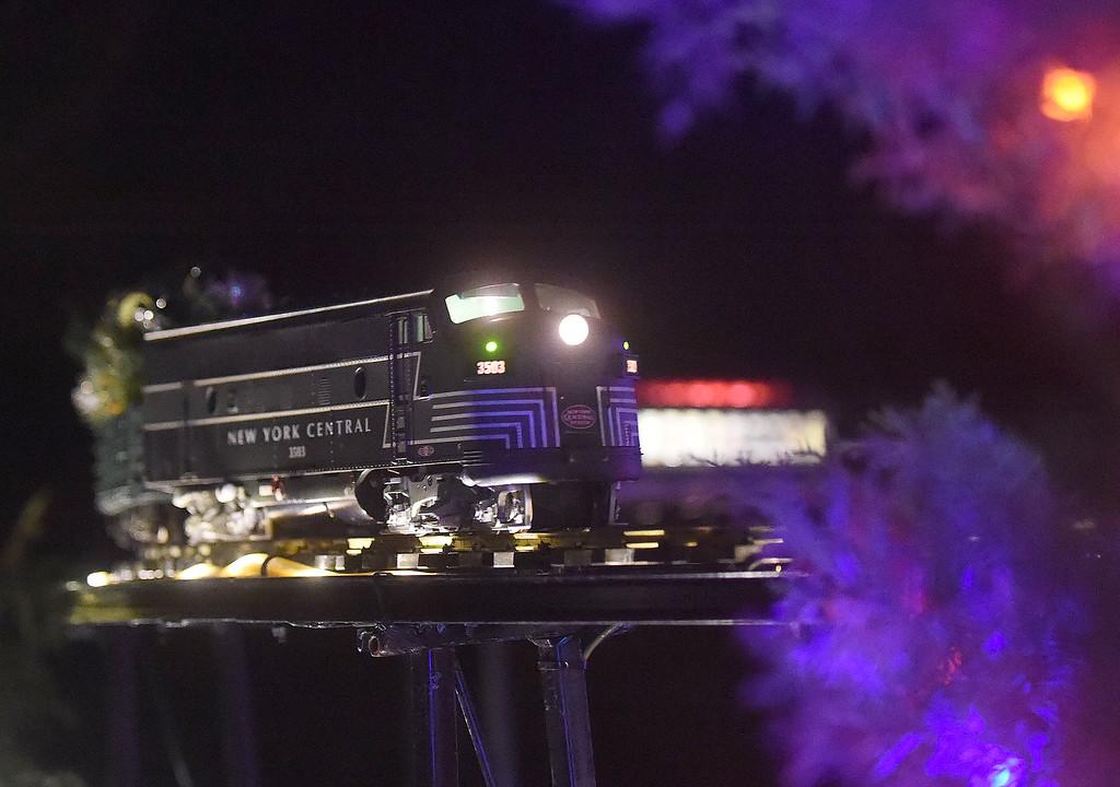 . PETE  BANNAN-DIGITAL FIRST MEDIA     The model railway at Longwood Gardens.