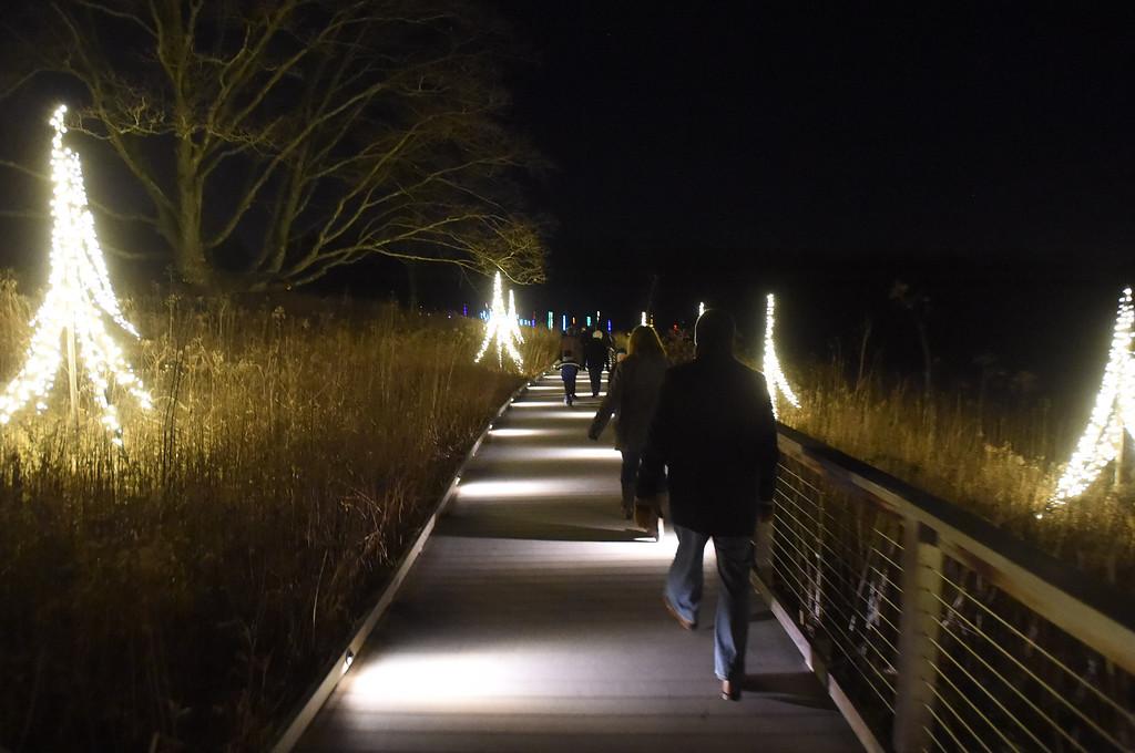 . PETE  BANNAN-DIGITAL FIRST MEDIA     The Meadow Boardwalk at Longwood Gardens