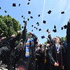 PETE BANNAN-DIGITAL FIRST MEDIA  Malvern Preparatory School held their  ninetieth commencement on campus Thursday Jun 2, 2016, 115 graduates received their diplomas. Following the ceremony they took part in the traditional cap toss in the  front of school, in the circle by the statue of St. Augustine.