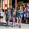 PETE  BANNAN-DIGITAL FIRST MEDIA  Bradford Heights Elementary School held a Patriots Day Flag Raising ceremony Monday, Sept. 12, 2016.  A student honor guard of Girl and Boy Scouts raised the flag,recited the Pledge of Alliance and held a moment of silence.  Front row  from left to right are; Sean Rodgers,9, Josie Provencher,9, and Abby Moyers,10. Back row;  Henry Johnson,10, Conner Riley,10, and Vivian Quinn,8.