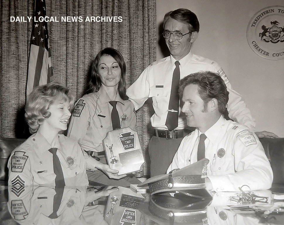 . Dec 1, 1977  Members of Tredyffrin Township auxillary police. Formed in \'74 to help with the Bicentennial and at Valley Forge Music Fair.
