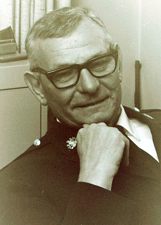 . WCPD Sgt. Tukloff May 11, 1972 after 27 year on the police force is retiring.