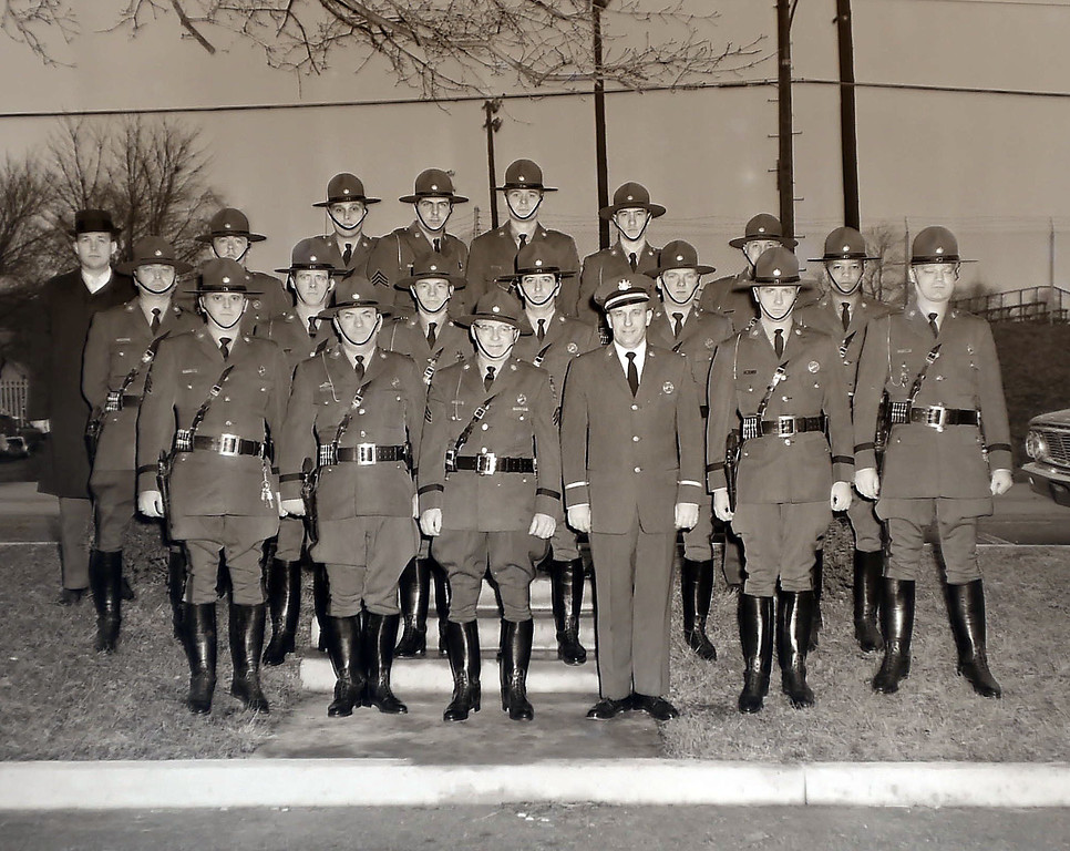 . Tredyffrin police show off their new uniforms January 6, 1965