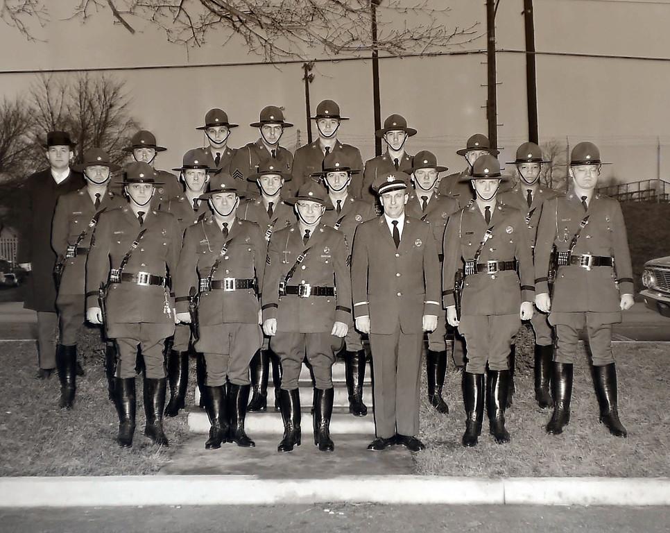 . Tredyffrin police show off their new uniforms January 6, 1965