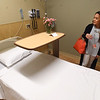 PETE BANNAN-DIGITAL FIRST MEDIA  Larissa Cabunag, Director of guest services at PowerBack Rehabilitation in Phoenixville looks at Phoenixville Hospital's new senior citizen emergency room Monday May 16, 2016. The seven bed  ER/observation unit is the first of its kind in the region.