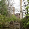 PETE BANNAN-DIGITAL FIRST MEDIA  The abandoned Sonoco Paper Mill   at 300 Brandywine Avenue in Downingtown seen from the Brandywine Creek