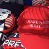 PETE BANNAN-DIGITAL FIRST MEDIA   Donald Trump for President memorabilia for sale in West Chester ahead of the Donald Trump rally at West Chester University in the Hollinger Field House on campus April 25, 2016.