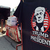 PETE BANNAN-DIGITAL FIRST MEDIA   Venders unloading Donald Trump for President memorabilia on Sharpless St. in West Chester ahead of the Donald Trump rally at West Chester University in the Hollinger Field House on campus April 25, 2016.