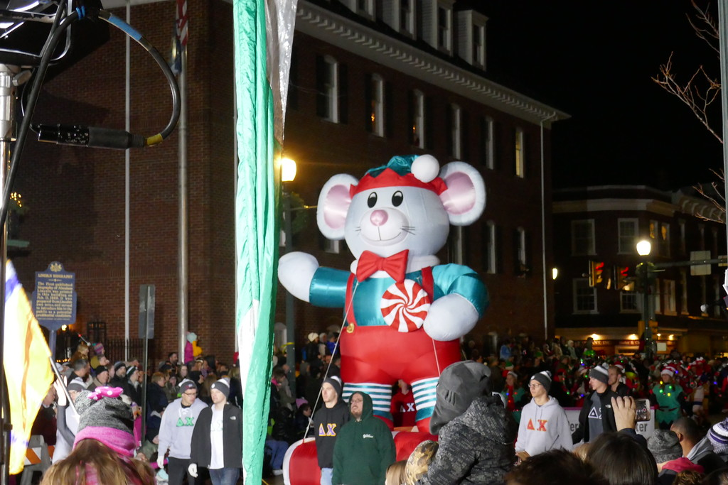 . WEST CHESTER >> About 40,000 spectators received an early taste of Christmas at Friday�s 38th Annual QVC West Chester Christmas Parade. The event was hosted by the Greater West Chester Chamber Commerce. PHOTOS BY FRAN MAYE