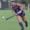 West Chester University middie (7) Katie Thompson had two goals against Bloomsburg in the Golden Rams 4-0 victory Wednesday afternoon at Vonnie Gros field.