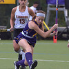 West Chester University forward (8) fires a shot Wednesday afternoon at Vonnie Gros field. The Golden Rams defeated Bloomsburg 4-0 to remain in first place in the PSAC.